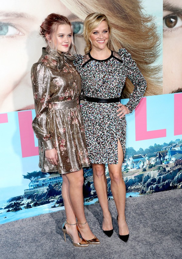 A atriz Reese Witherspoon e a filha, Ava Elizabeth Phillippe (Foto: Getty Images)