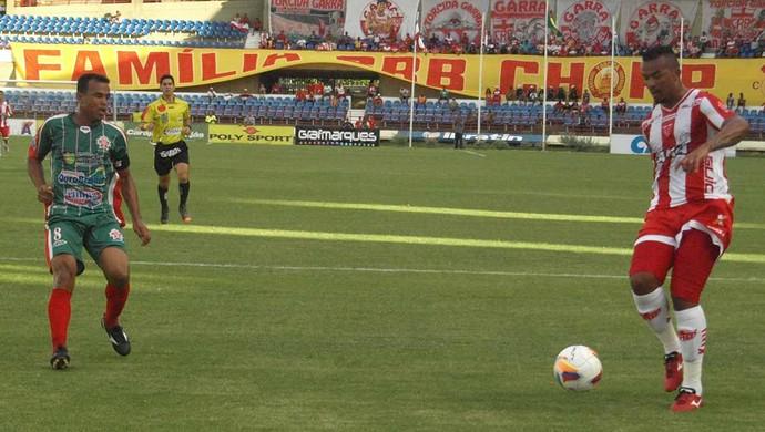 Lau volta a jogar pelo CEO (Foto: Júnior de Melo/Divulgação CRB)