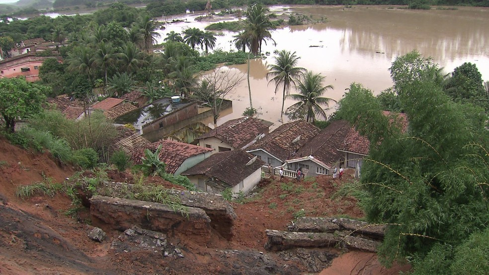 Chuvas em Pernambuco (Foto: Reprodução/TV Globo)