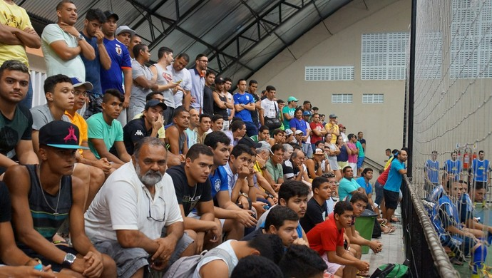 ABC x AABB Natal futsal (Foto: Augusto Gomes/GloboEsporte.com)