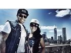 Naldo e Moranguinho curtem Nova York: 'Que dia maravilhoso'