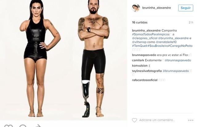 Bruna Alexandre (Foto: Reprodução/ Instagram)
