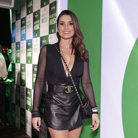 Flavia Alessandra: além de estar em cartz nos cinemas, ela já tem volta à TV agendada (Foto: Miguel Sá)