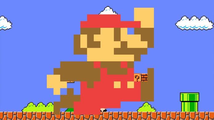 Vários dos detalhes de Mario vieram das limitações do Nintendo 8 Bits (Foto: Reprodução/BloxCity, DotaGeeks)