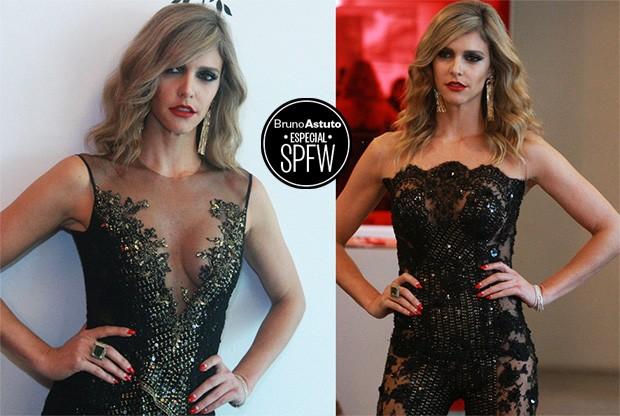 Fernanda Lima - a trasparência sexy de Samuel Cirnansck (Foto: AG. News)