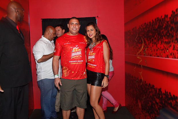 Ronaldo e Paula (Foto: Marcos Ribas/Photo Rio News)