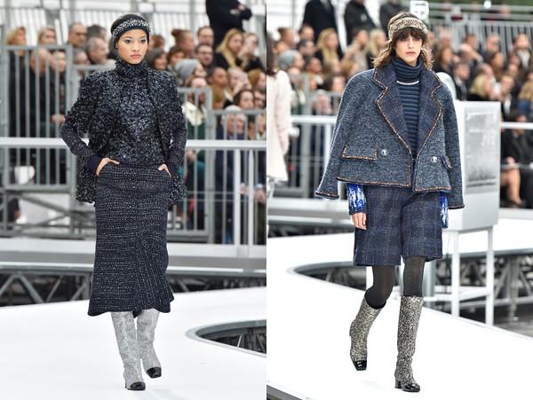 A Chanel também apostou na tendência (Foto: Getty Images)