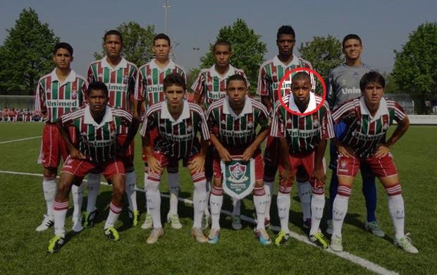 Gabriel Costa Fluminense destacado (Foto: Reprodução/Facebook)