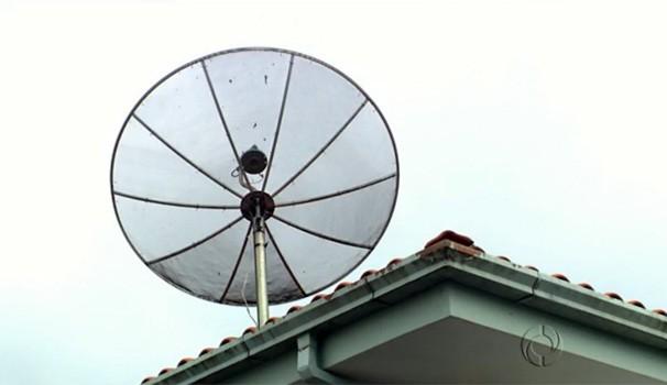 Antena da TV digital (Foto: Reprodução/RPC)
