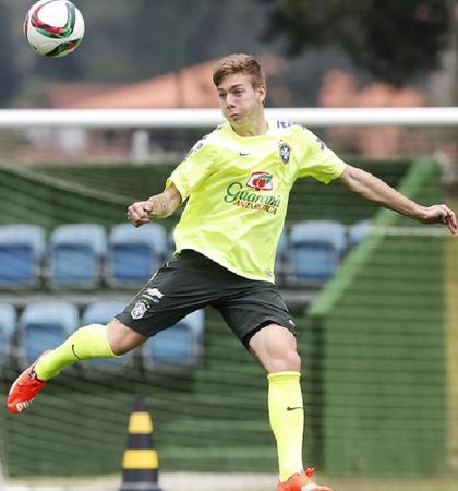 Luis Henrique Botafogo seleção (Foto: Divulgação / CBF)