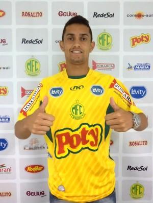 Felipe Lima, reforço do Mirassol para o Paulistão 2013 (Foto: Vinicius de Paula/Mirassol FC)