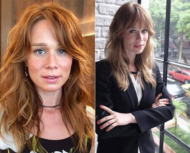 Mariana Ximenes antes e depois (Foto: Divulgação)