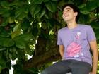 Felipe Haiut, o Ziggy de 'Malhação', posa para o EGO