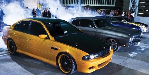 BMW M5 em cena (Foto: Divulgação)