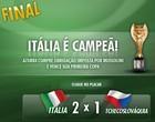 Saiba como foi o Mundial da Itália (Reprodução)