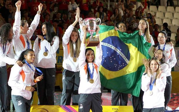 Osasco vôlei comemoração Mundial de Clubes (Foto: Reuters)