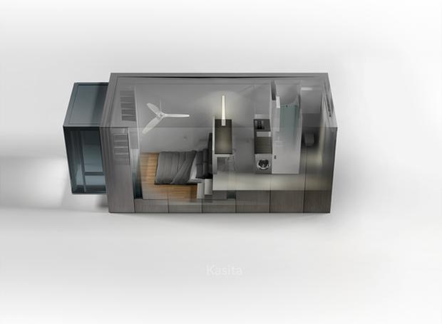 casa-pequena-modular-kasita (Foto: Divulgação)