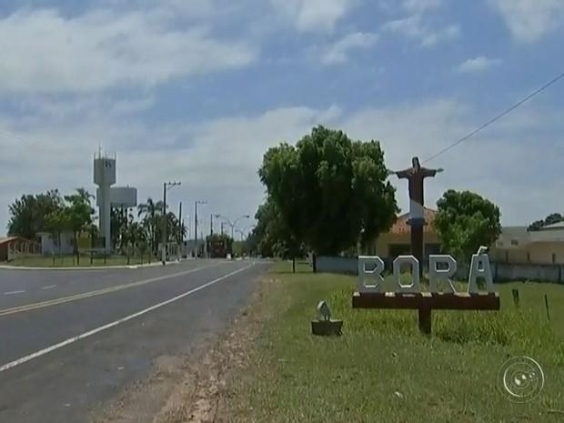 Borá é menor cidade do Estado de São Paulo (Foto: Reprodução / TV TEM)