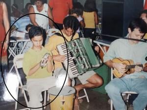 Segundo a mãe, amor pela música veio desde criança (Foto: Ely Venâncio/EPTV)