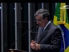 Interrogatório de Dilma no Senado: Eduardo Amorim pergunta