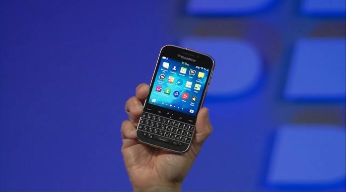 BlackBerry Classic é lançado em Nova York (Foto: Reprodução)
