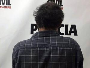 Suspeito de roubo a multinacional em Juiz de Fora (Foto: Assessoria Polícia Civil/Divulgação)
