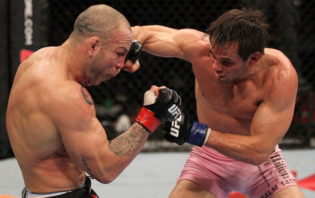 Wanderlei Silva  Rich Franklin ufc 147 mma (Foto: Getty Images)