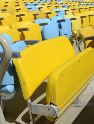 cadeiras maracanã (Foto: Marcelo Santos/MFS)