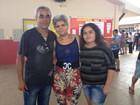 Família vota unida em candidatos diferentes (Gaia Quiquiô/ G1)