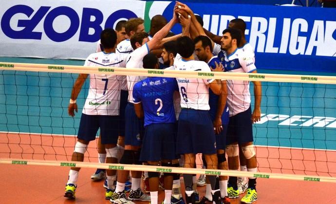 São José Vôlei (Foto: Felipe Kyoshy/GloboEsporte.com)