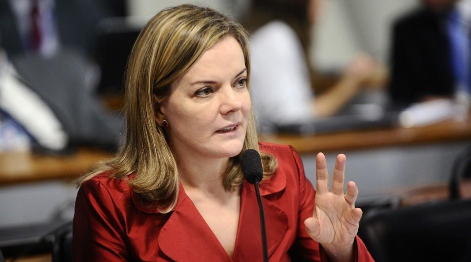 Senadora Gleisi Hoffman (PT)  (Foto: Wikimedia Commons)