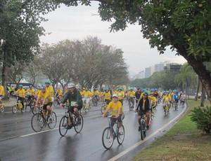 Dia Mundial Sem Carro Eu Atleta (Foto: Luma Dantas)
