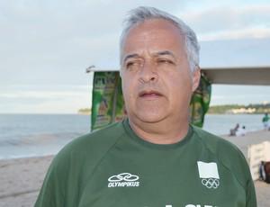 antônio guerra peixe seleção brasileira de handebol de areia técnico (Foto: Lucas Barros / Globoesporte.com/pb)