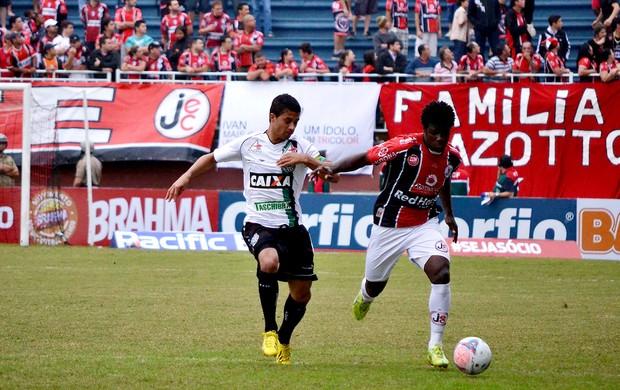 Sandro Joinville e figueirense Série B (Foto: Leandro Ferreira / Agência Estado)
