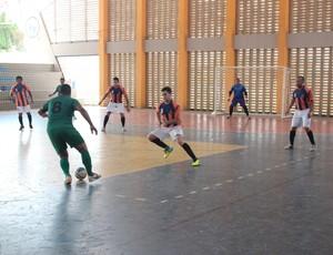 Cajuína x Einstein pelo Piauiense de Futsal (Foto: Wenner Tito)