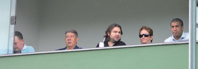 joel santana no estádio nivaldão, jogo do boavista (Foto: Marcos Faria Melo)