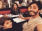 Thiago Rodrigues comemora programa em família: 'Raridade'