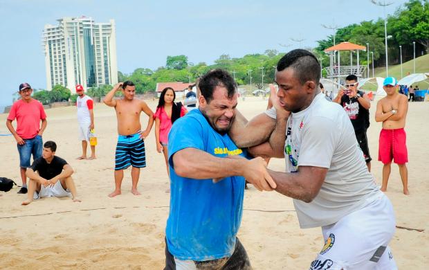 Alexandre Jacaré Manaus (Foto: Cleilton Viana/Sejel)