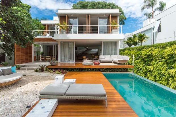 Casa com cara de praia na cidade grande (Foto: Flavio Treiger)