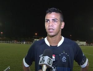 Léo Paraíba, atacante do Remo (Foto: Reprodução/Rede Amazônica Vilhena)