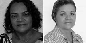 Dilmas de Mirangaba (à esquerda) e de Pedra Mole foram eleitas (Foto: Divulgação)