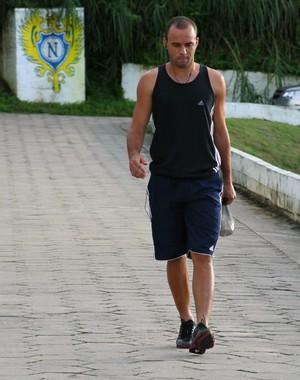 Desolado, Thiago Mariano descreveu sua situação como pura falta de sorte (Foto: Frank Cunha/Globoesporte.com)