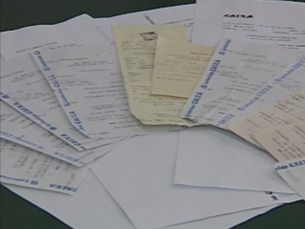 Após seguir as exigências dos golpistas, a vítima fez 11 depósitos que totalizaram quase R$ 5 mil (Foto: Reprodução/TV Tem)