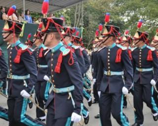 Desfile cívico em Resende (Foto: internet)