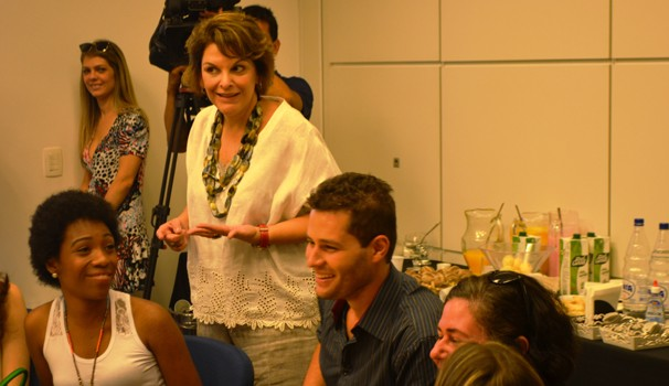Leonor Corrêa, diretora do programa, afirmou que programa permanece fiel às raízes (Foto: Bruno Teixeira / EPTV)