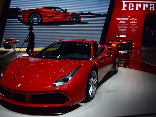 Ferrari 488 GTB (Foto: Johannes Eisele/AFP)