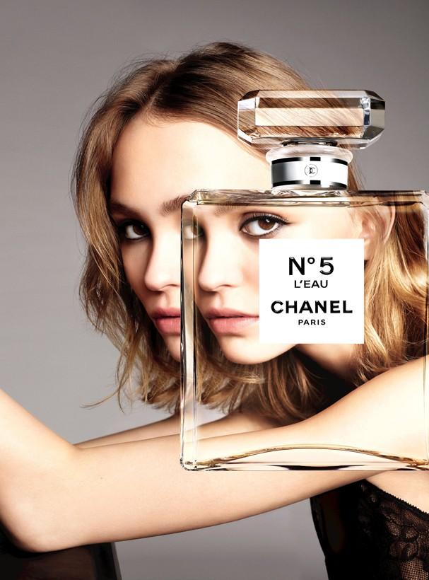 Lily-Rose Depp para Chanel (Foto: Divulgação)