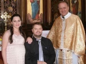 Jonas e Elaine casaram no ano passado (Foto: Jonas Kernitskei/Arquivo pessoal)
