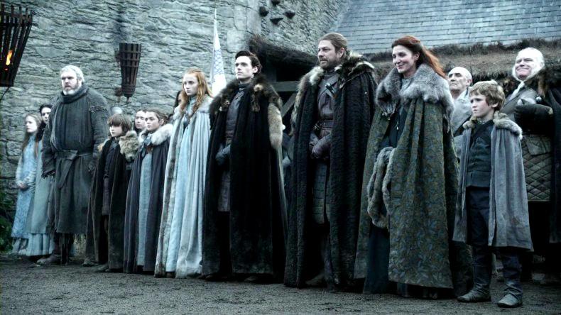 Família Stark, de GoT (Foto: Reprodução/ HBO)