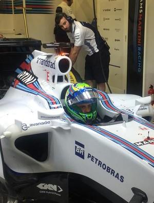 Felipe Massa Williams Jerez (Foto: Divulgação)